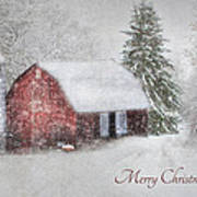 An Old Fashioned Merry Christmas Poster