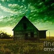 An Old North Dakota Farm House Poster