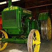 An Old Restored John Deere Poster