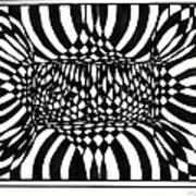 An Optical Illusion Poster