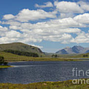 An Teallach From Loch Droma Poster