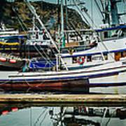 Anacortes Fishing Fleet Washington State Poster