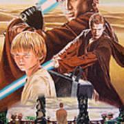 Anakin Skywaler Tatooine Poster