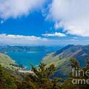 Anakoha Bay Of Marlborough Sounds In New Zealand Poster