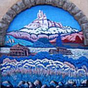Anasazi Wall Art Poster by Eva Kato