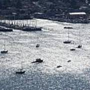 Anchorage Off Of Sausalito Poster