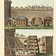 Ancient Besiegement Tools Poster