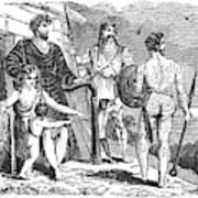 Ancient Briton, Caledonian And Irish Poster