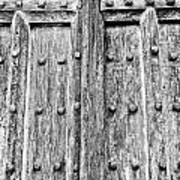 Ancient Church Door Poster