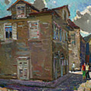 Ancient House In Perast Poster