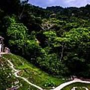 Ancient Maya Ruins Poster