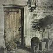 Ancient Medieval Door Poster