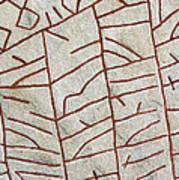 Ancient Runestone Poster