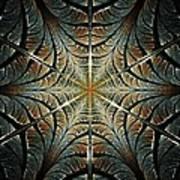 Ancient Shield Poster by Anastasiya Malakhova
