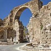 Ancient Side Entrance Gate Poster