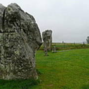 Ancient Site Of Avebury Poster