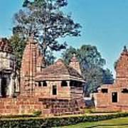 Ancient Temple Complex  - Amarkantak India Poster