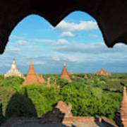 Ancient Temples And Pagodas, Bagan Poster