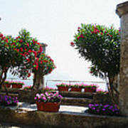 Ancient Town Of Ravello Italy Poster
