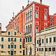 Ancient Venetian Houses Poster