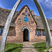 Ancient Whale's Jawbones Gate Poster