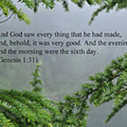 And God Saw Poster