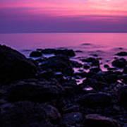 Andaman Sea Sunset Poster