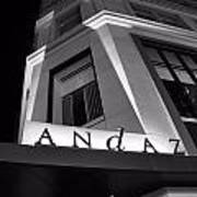 Andaz Hotel On 5th Avenue Poster
