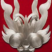 Andean Devil Mask Poster