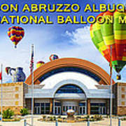 Anderson Abruzzo Albuquerque International Balloon Museum Poster Poster