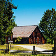 Anderson Valley Barn Poster