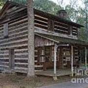 Andrew Logan Log Cabin Ninety Six National Historic Site Poster