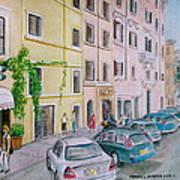 Anfiteatro Hotel Rome Italy Poster