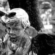Angel In The Garden Poster