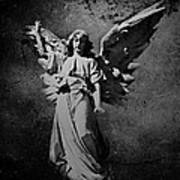 Angel Of Death Bw Poster