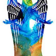 Angel Of Light - Spiritual Art Painting Poster