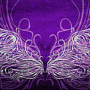 Angel Wings Royal Poster