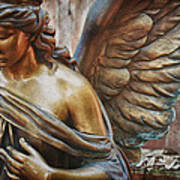 Angelic Contemplation Poster by Terry Rowe