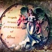 Angels  Poster by Denisse Del Mar Guevara