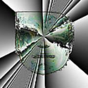 Anger Mask Poster