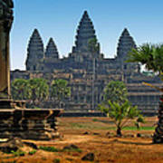 Angkor Afternoon Poster