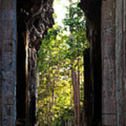 Angkor Thom East Gate 04 Poster