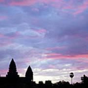 Angkor Wat Sunrise 02 Poster
