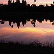 Angkor Wat Sunrise Cambodia Poster