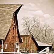 Angle Top Barn Poster