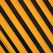 Angled Stripes Poster