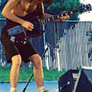 Angus Young Of A C D C At Day On The Green Monsters Of Rock Poster