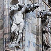 Animal Gargoyles Duomo Di Milano Italia Poster