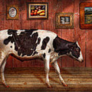 Animal - The Cow Poster by Mike Savad