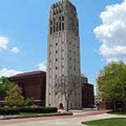 Ann Arbor Michigan Clock Tower Poster